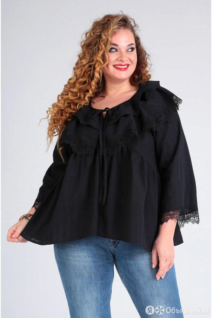 Блуза 62380 Таир-Гранд черная полоска Модель: 62380 по цене 4056₽ - Блузки и кофточки, фото 0