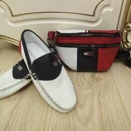 Туфли и мокасины - Мокасины 38р и кросс боди кожа, 0