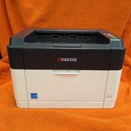 Принтеры и МФУ - Принтер KYOCERA FS-1040, бело-черный, 0