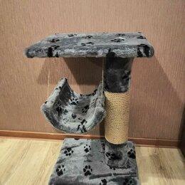 Когтеточки и комплексы  - Когтеточка для кошек с качелью, 0