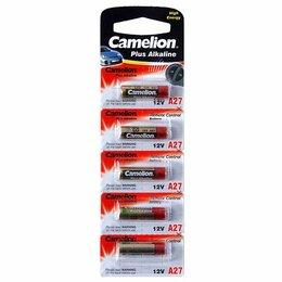 Батарейки - Элемент питания Camelion LR27A 12V BL5, 0