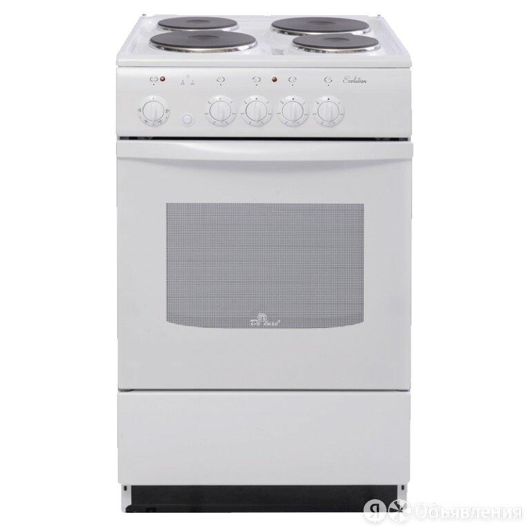 Электрическая плита De Luxe 5004.12э белый по цене 11700₽ - Плиты и варочные панели, фото 0