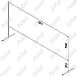 Тенты строительные - Пресс-волл 3х1 м, 0