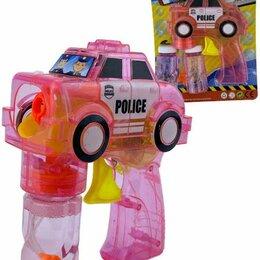 """Мыльные пузыри - Мыльные пузыри механические """"Пистолет. Машинка"""" (розовый), 0"""