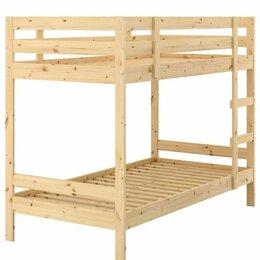 Кровати - Двухъярусная кровать и 2 матраса, 0