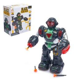 Роботы и трансформеры - Робот «Герой», световые и звуковые эффекты, работает от батареек, 0