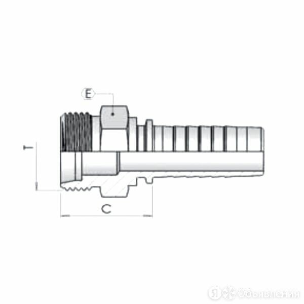 Фитинг DN 06 DKM (ш) 10*1 по цене 185₽ - Комплектующие, фото 0