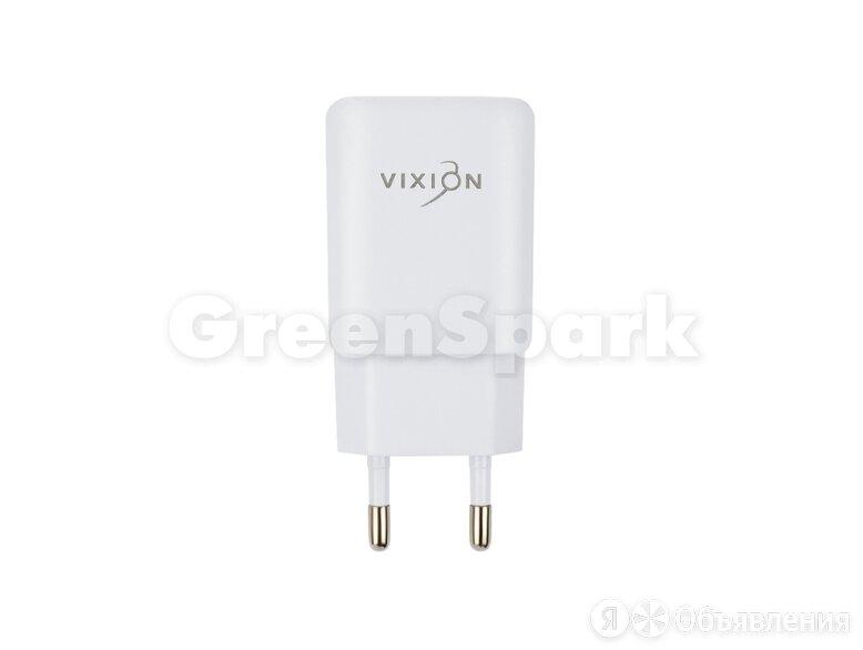 СЗУ VIXION L2 (2-USB/1.2A) (белый) по цене 250₽ - Прочие запасные части, фото 0