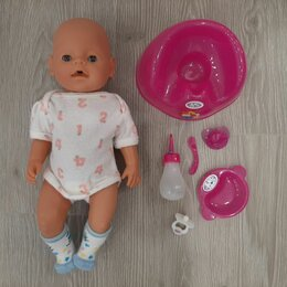Куклы и пупсы - Кукла для девочек Baby Born + 3 дополнительных комплекта одежды и аксессуаров , 0