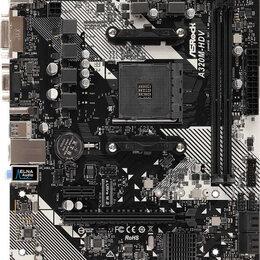 Материнские платы - ASRock Материнская плата Asrock A320M-HDV R4.0 Soc-AM4 AMD A320 2xDDR4 mATX A..., 0
