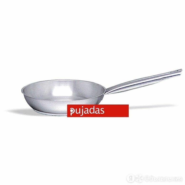 Сковорода 40 см, h 6,5 см, нержавейка 18/10, Pujadas, Испания по цене 8947₽ - Сковороды и сотейники, фото 0