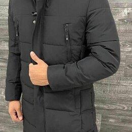 Куртки - Удлинённая мужская зимняя куртка р-ры 44-56, 0