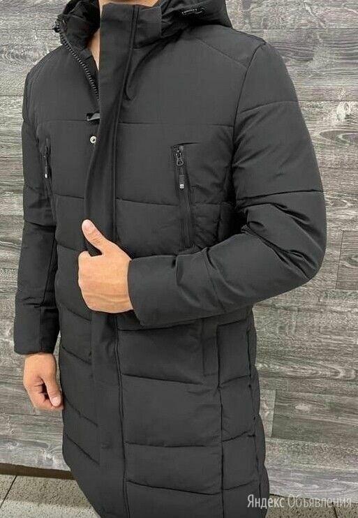 Удлинённая мужская зимняя куртка р-ры 44-56 по цене 4690₽ - Куртки, фото 0
