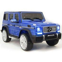 Электромобили - Электромобиль детский Mercedes Benz G65 AMG 4WD, 0