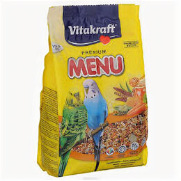 Корма - VITAKRAFT MENU Основной корм для волн. попугаев 1 кг , 0
