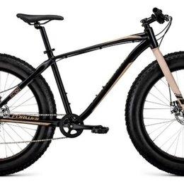 """Велосипеды - Фэт-байк Bizon 26 черный/бежевый 18"""" рама (2021), 0"""