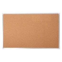 Информационные табло - Calligrata Доска пробковая 90 х 120 см, Calligrata REEF, в алюминиевой рамке, 0