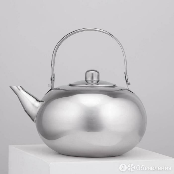 Чайник 'Арес', 1,5 л, с ситом по цене 836₽ - Прочая техника, фото 0