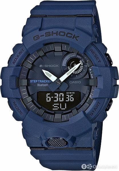 Наручные часы Casio GBA-800-2A по цене 13490₽ - Умные часы и браслеты, фото 0