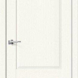 Входные двери - Межкомнатная дверь с экошпоном Прима-12 White Wood, 0