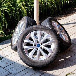 Шины, диски и комплектующие - Диски R17 Ford (Kuga) оригинал 4 шт. + шины летние, 0