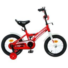 """Велосипеды - Велосипед 14"""" Graffiti Storman, цвет красный/белый 4510674, 0"""
