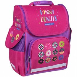 Рюкзаки, ранцы, сумки - Ранец ArtSpase Junior Funny donuts 37*28*21см 1 отд. 3 кармана.Uni_17601, 0