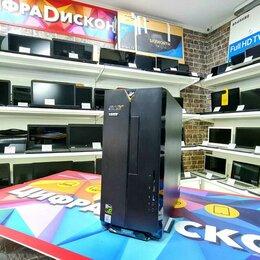 Настольные компьютеры - Игровой Системный Блок Acer i5-10400F 8Гб SSD 512Гб GeForce GTX 1650, 0