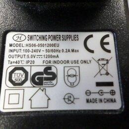 Блоки питания - Блок питания постоянного тока 5V 1200mAH, 0