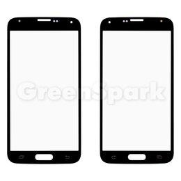 Дисплеи и тачскрины - Стекло для переклейки на Samsung G900 Galaxy S5 (черный), 0