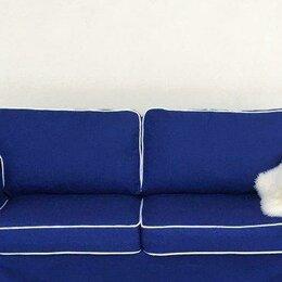 Чехлы для мебели - Чехол для 2 местного дивана-кровати Экторп (икеа), 0