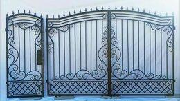 Заборы и ворота - Ворота с калиткой , 0