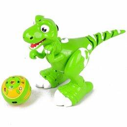Радиоуправляемые игрушки - Радиоуправляемый интерактивный динозавр с паром, 0