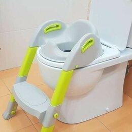 Горшки и сиденья - Сиденье на унитаз со ступенькой для детей, 0
