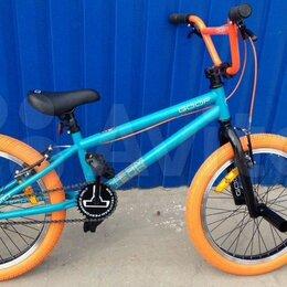 Велосипеды - Велосипед Bmx tech team goof 20 бирюзово-оранжевый, 0