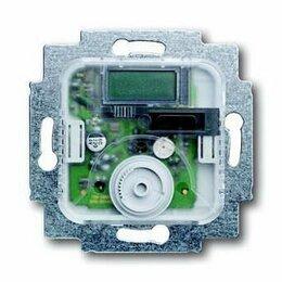 Электрический теплый пол и терморегуляторы - Терморегулятор комнатный ABB BJE 10A 250V с НОК 2CKA001032A0488, 0