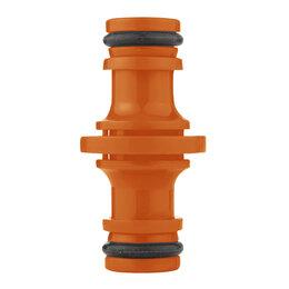 Шланги и комплекты для полива - Центроинструмент Соединитель двойной 74001, 0