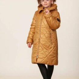 """Пальто - Пальто зимнее для девочки """"Селия"""", цвет золотой, арт. 05120-8, размер 38-146, 0"""