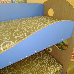 Кровати - Детская кровать двухярусная , 0
