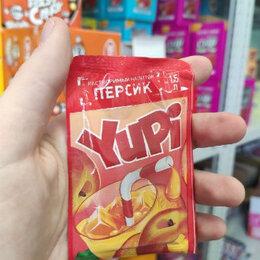 Ингредиенты для приготовления напитков - Растворимый напиток Yupi со вкусом персика (Чили) 15 гр., 0