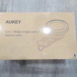 Объективы - Объектив для iPhone Aukey 2-in-1 Lens PL-WD07, 0