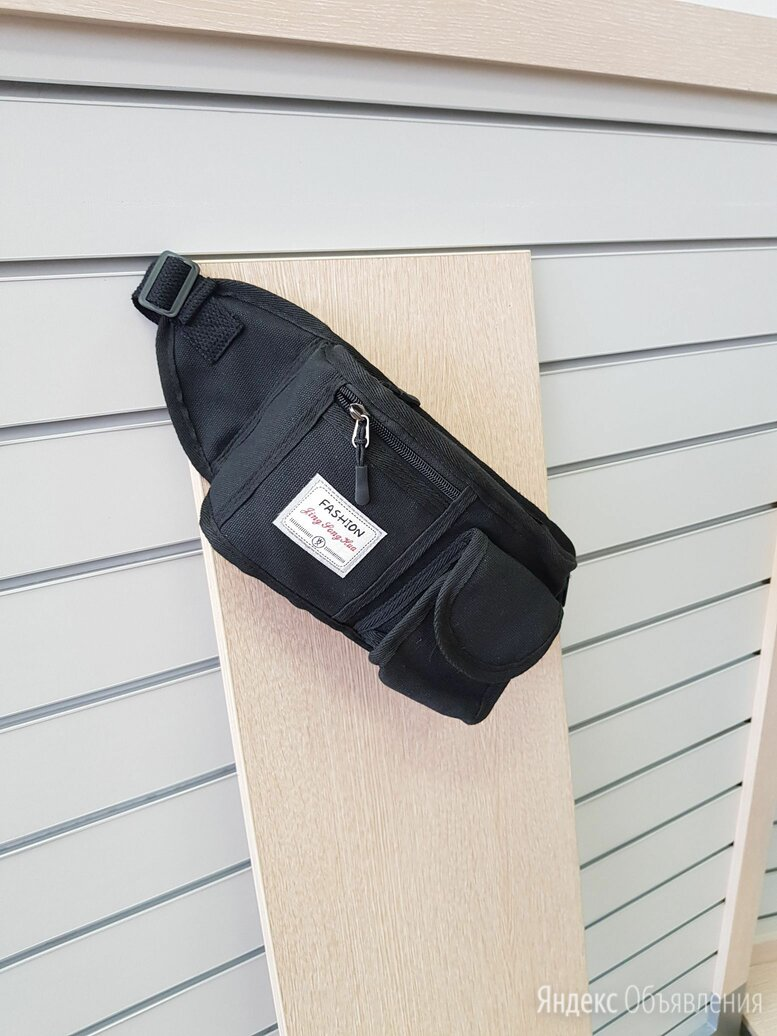 Поясная сумка новая чёрная по цене 500₽ - Сумки, фото 0