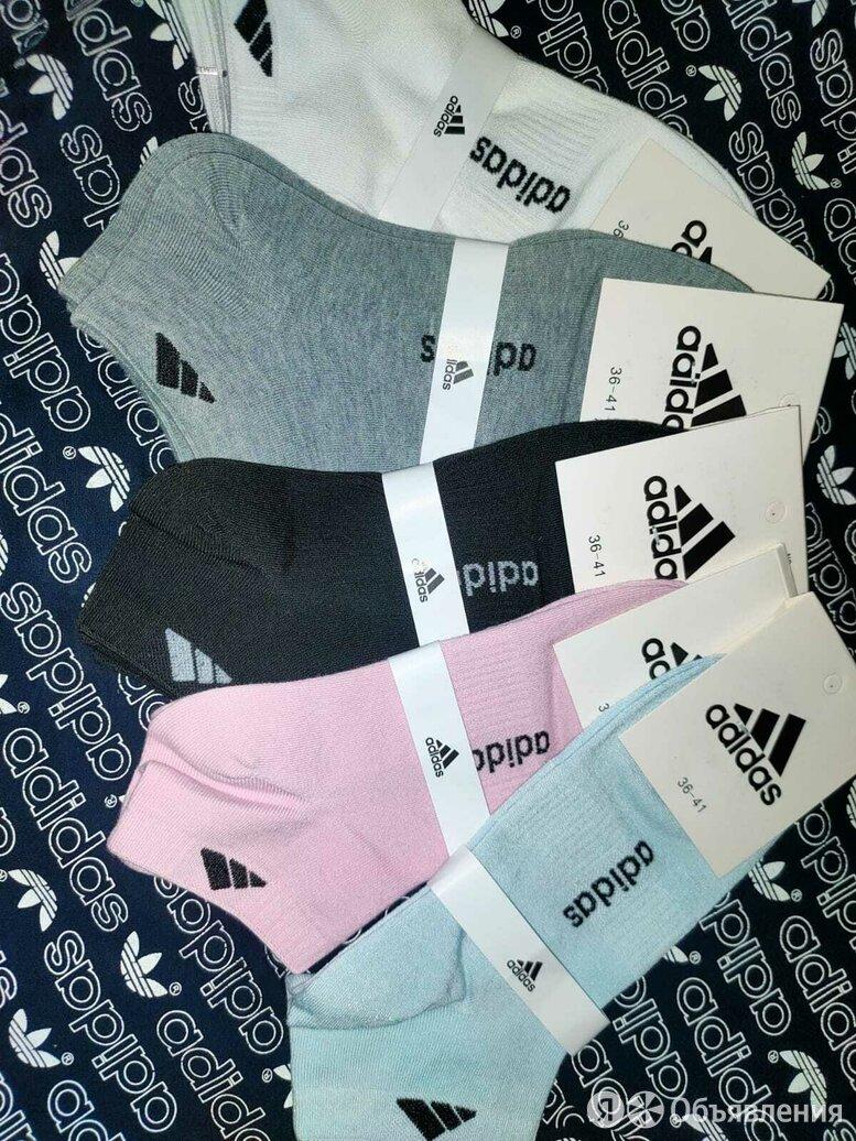 Женские носки adidas новые по цене 100₽ - Колготки и носки, фото 0