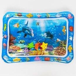 Спортивные игры и игрушки - Коврик надувной для малышей «Ocean» 65х48х8см , 0