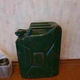 Канистры - канистра металл, 20 л (только бензин), 0
