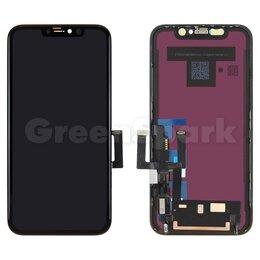 Дисплеи и тачскрины - Дисплей для iPhone 11 + тачскрин черный с рамкой (100% LCD), 0