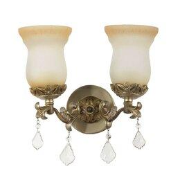 Бра и настенные светильники - Бра Dio DArte Asfour Dorato E 2.1.2.200 S, 0