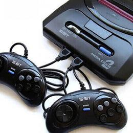 Ретро-консоли и электронные игры - Sega Mega Drive 2 Игровая консоль, 0