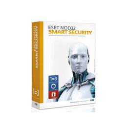 Программное обеспечение - ПО ESET NOD32 Smart Security+Bonus+расшир. функционал-лицензия на 1год на 3ПК..., 0