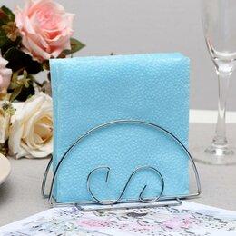 Влажные салфетки - Салфетки бумажные голубые Big Pack, 24*24 см, 350 шт., 0